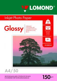 Фотобумага Lomond А4 150 г/м2 глянцевая 50 листов