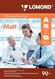 Матовая фотобумага Lomond A4 90 г/м2 500 листов