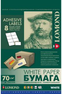 Самоклеющаяся бумага Lomond