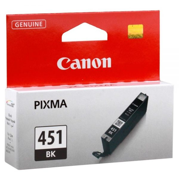 Картридж Canon CLI-451 Bk iP7240 MG5440 MG5540