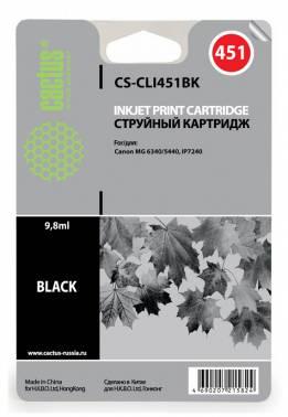 Картридж CLI-451 BK аналог в принтер Canon iP7240