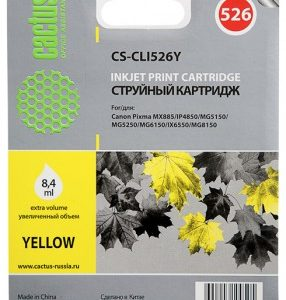 Картридж Canon CLI-526Y желтый