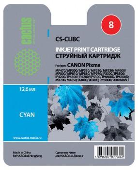 Картридж CLI-8C в Canon ip3300 iP3500 MP600 MP610