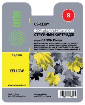 Картридж CLI-8Y в Canon iP4200 iP4300 MP800 MP970