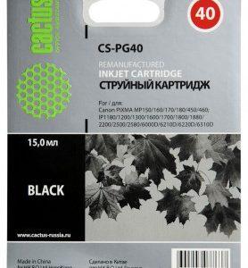 Совместимый картридж Canon PG-40 черный