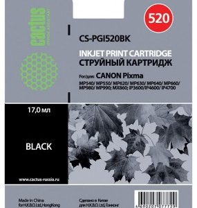 Картридж Canon PGI-520BK черный аналог