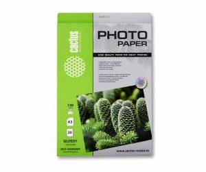 Самоклеящаяся фотобумага А3 Cactus