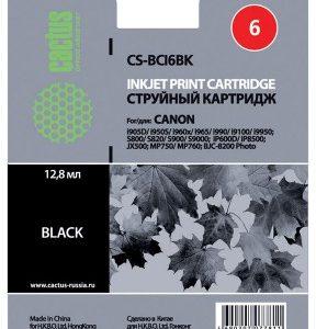 картридж Canon BCI-6 BK черный