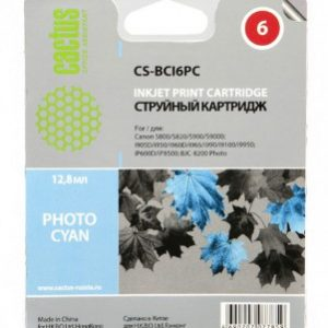 Картридж Canon BCI-6PC photo-cyan светло-голубой