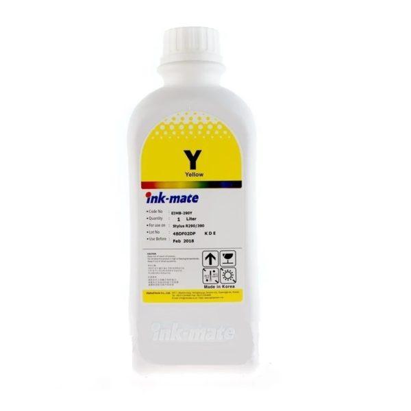 Чернила в Epson InkMate EIM-290 1 литр желтые