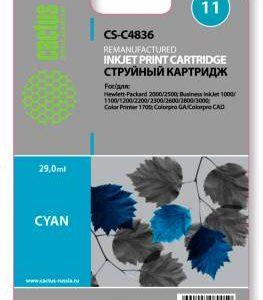 Совместимый картридж HP 11 C4836 голубой