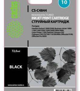 Совместимый картридж HP 10 C4844 черный