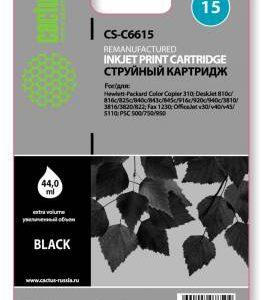 Совместимый картридж HP 15 C6615 черный