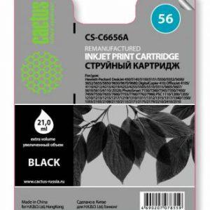 Совместимый картридж HP 56 черный C6656A