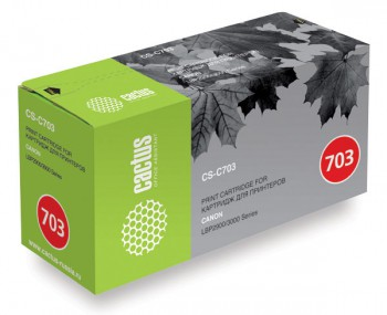 Картридж Canon 703 аналог в принтер LBP-2900 3000