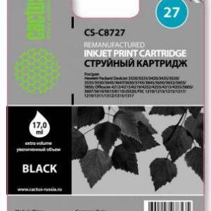 Картридж HP 27 аналог C8727 черный в 3320 3420