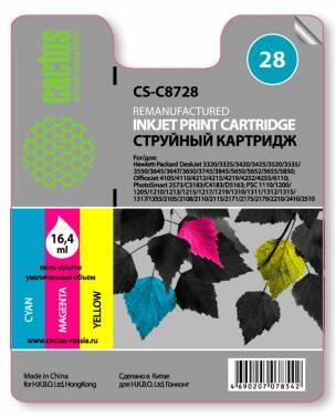 Совместимый картридж HP 28 C8728 цветной