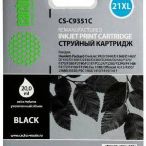 Совместимый картридж HP 21 Xl C9351C черный