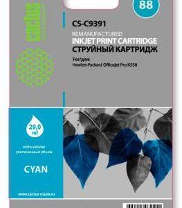 Картридж HP 88 C9391 голубой