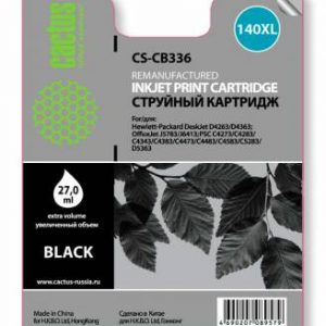 Совместимый картридж HP 140XL CB336 черный