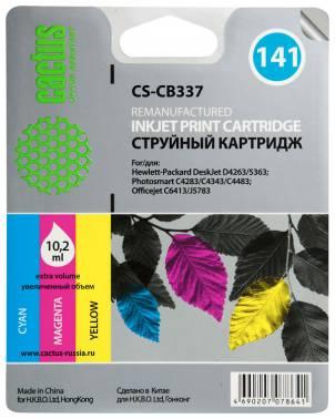 Совместимый картридж HP 141 CB337 цветной