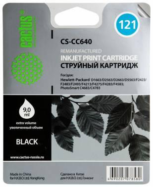 Совместимый картридж HP 121 CC640 черный