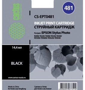 Совместимый картридж Epson T0481 черный