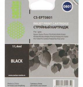 Картридж T0801 в Epson Photo P50 PX650 аналог