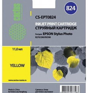 Картридж аналог Epson T0824 в Photo TX650 TX659