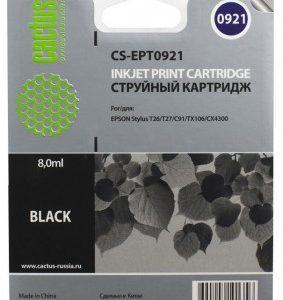 Совместимый картридж Epson T0921 черный