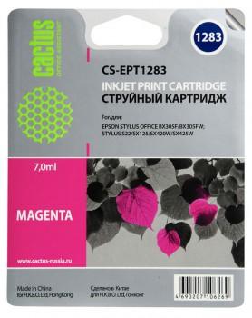 Совместимый картридж Epson T1283 пурпурный