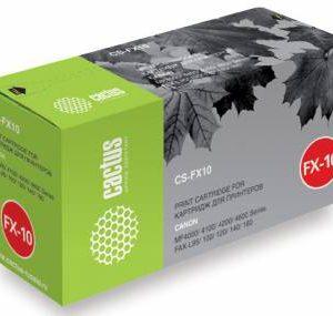 Картридж Canon FX 10 аналог в MF4000 4010 Cactus
