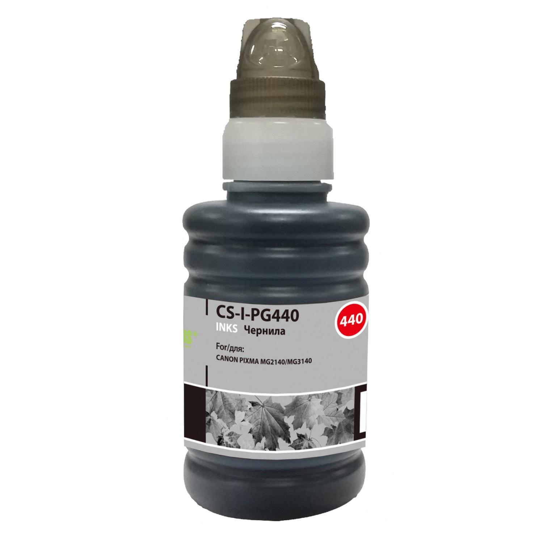 Чернила для принтера Canon черные Cactus PG-440