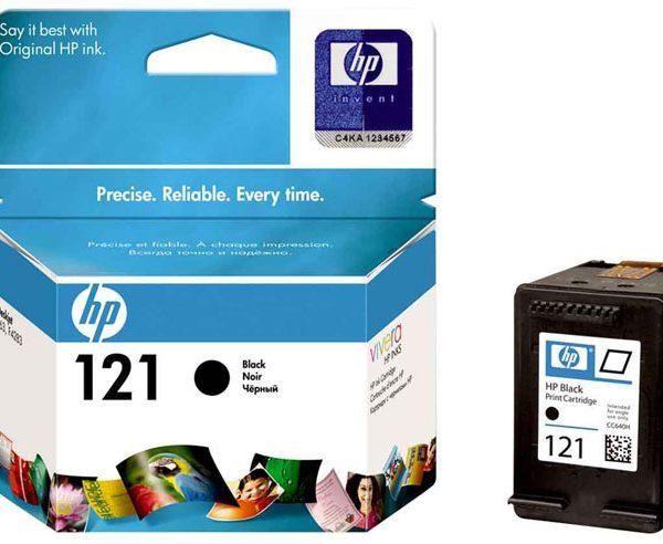 Картридж HP 121 черный в D2563 D5563 F2483 F4283
