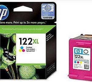Картридж HP 122XL CH564 цветной в DJ 1050 2050