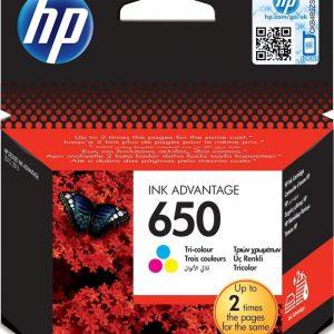 Картридж для принтера HP 650 CZ102 цветной