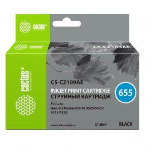Картридж HP 655 CZ109AE аналог в принтер 3525 5525