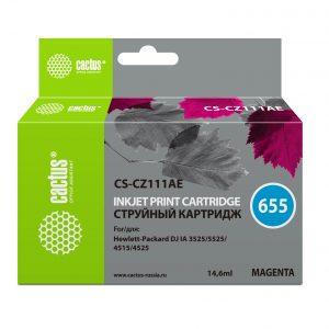 Картридж аналог HP 655 CZ111AE пурпурный купить