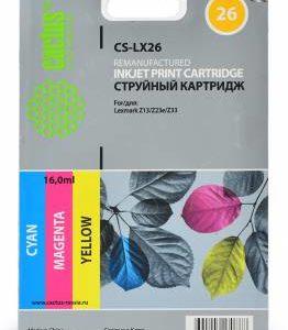 Картридж Lexmark 27 в принтер Z601/605/X1170/1180