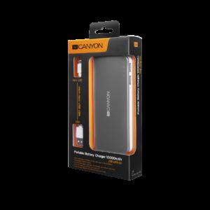 Портативный аккумулятор Canyon 10000 мА·ч