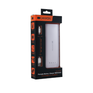 Портативный аккумулятор Canyon 15600 мА·ч