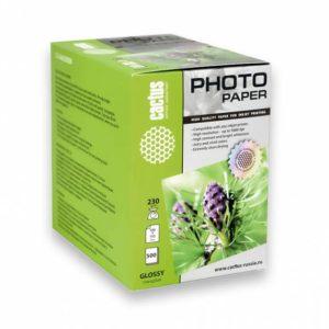 Фотобумага Cactus 230 гр 500 листов