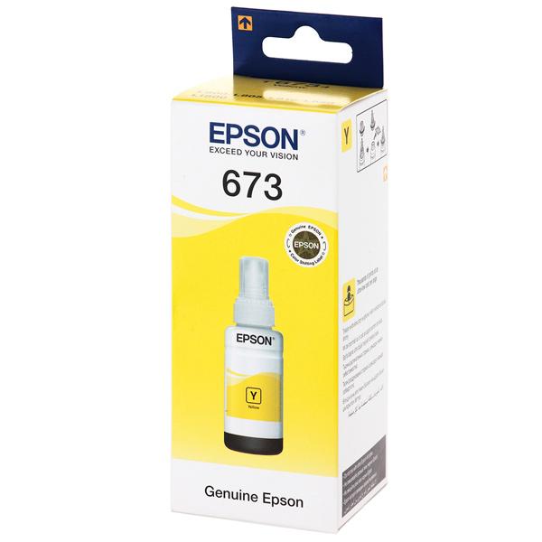 Чернила для Epson желтые T6734