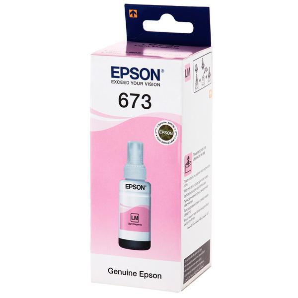 Чернила Epson светло-пурпурные T6736