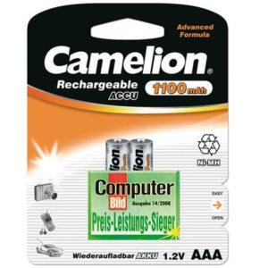 Аккумулятор Camelion AAA 1100mAh