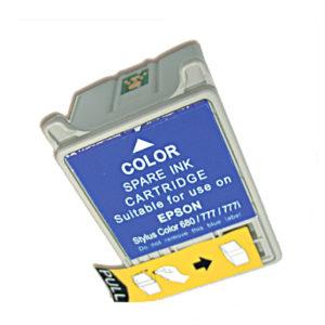 Картридж совместимый Epson T018 цветной