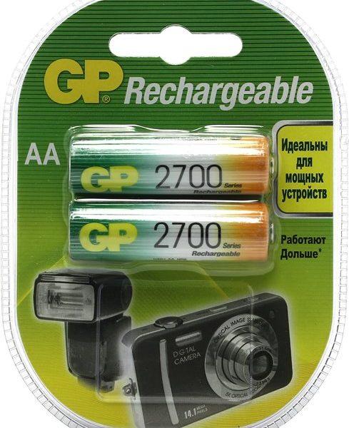 Аккумулятор AА 2700 мАч