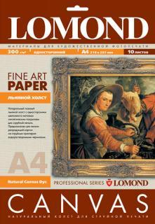 Холст льняной для струйной печати A4 10 листов