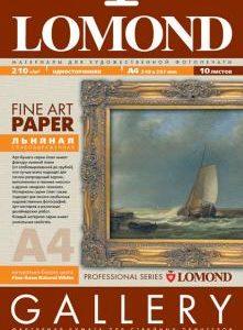 Бумага Lomond Лен A4 10 листов