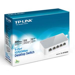 Коммутатор TP-Link TL-SF1005D 5 портов